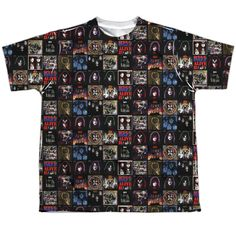 Kiss: Album Covers Sublimated Youth T-Shirt