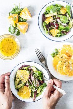 Avocado orange salad with orange honey vinaigrette   Eat Good 4 Life