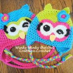 Free Crochet Owl Hat Pattern Sleepy the Little Owl
