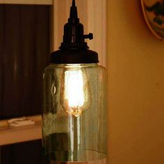 Medium Open Cylinder Pendant Light 1