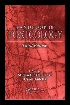 Derelanko, Michael J. Handbook of toxicology. Plaats VESA 615.2 HAND