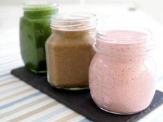 Karita Tykkä: smoothie reseptit Raw Food Recipes, Healthy Recipes, Snacks Recipes, Healthy Snacks, Superfood, Cantaloupe, Detox, Mason Jars, Food And Drink