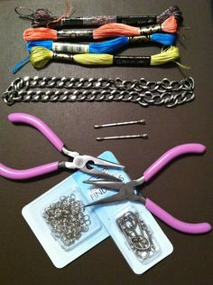 Woven Chain Bracelet Party