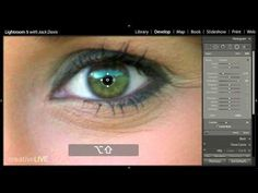 Editing Eyes for Portraits that Pop in Adobe Lightroom