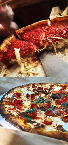 It's an NYC-Chicago pizza battle royale. Two chefs argue it out over whether the thin crust or deep dish wins the prize for best pizza.