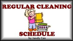 Spring Clean Once, then Never Again with this Regular Household Cleaning Schedule Household Cleaning Schedule, Cleaning Schedules, Looking For Love, Spring Cleaning, Healthy Relationships, Manual, Decluttering, Organization, Creative