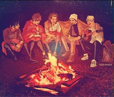 one direction fan art 2015 - sick fan art Zayn Malik, Niall Horan, One Direction Fan Art, One Direction Drawings, Liam Payne, Louis Tomlinson, Irish Boys, 1d And 5sos, Edward Styles