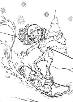 65 Groovy Girls printable coloring pages for kids. Find on coloring-book thousands of coloring pages. Sports Coloring Pages, Easy Coloring Pages, Online Coloring Pages, Coloring Pages For Girls, Coloring Pages To Print, Coloring For Kids, Printable Coloring Pages, Coloring Sheets, Adult Coloring