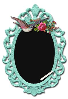 3a6164855dd chalkboard in a fancy pants mirror frame~ elegant Le Temps Qui Passe