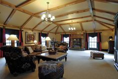 Bernie Bloemer Custom Homes Upstairs Theatre and Game Room Home Builders, Game Room, Custom Homes, Nashville, Theatre, Ceiling Lights, Home Decor, Living Room Playroom, Decoration Home