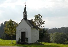 A rather tiny church indeed set along the roadside of the Black Forest in Germany