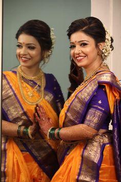#makeup #beauty #wedding #Indianbride #bridal #weddingideas #gorgeous #marathi #sari #maharashtrianbride