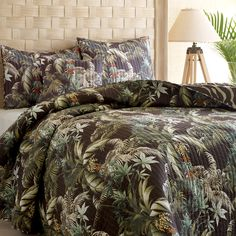 Tommy Bahama Rainforest Quilt #bedding