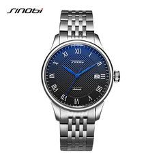 Buy SINOBI High Quality Automatic Watch Mens Mechanical watches Japanese Miyota Movement Men's Rolexable Watches Luxury Wristwatches at www.smilys-stores.com! Free shipping. 45 days money back guarantee. Watches For Men, Men's Watches, Mechanical Watch, Automatic Watch, Michael Kors Watch, Omega Watch, Japanese, Luxury, Wristwatches