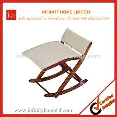 Source Wooden Folding Rocking Footrest Stool Leg Rest Support on m.alibaba.com