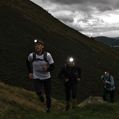 Trail Running Night