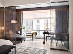Experience a luxury New York City hotel stay at Park Hyatt New York. Large suites with floor to ceiling windows let in incredible views and place you within walking distance to Carnegie Hall and Central Park. Lounge Design, Hotel Room Design, Hotels In New York, Casa Hotel, Hotel Lobby, Hotel Paris, Carnegie Hall, Design Logo, Design Agency