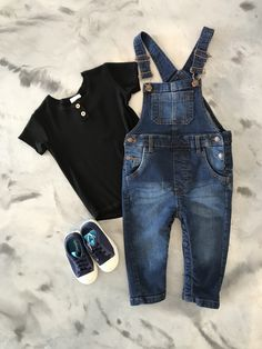 Jax&Lennon shirt paired with overalls and People footwear Overall Shorts, Must Haves, Overalls, Footwear, Pairs, Children, Clothing, People, Fashion Trends