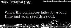 EVERYDAY #clarinetprobs