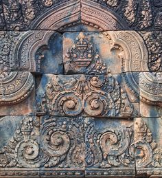 Banteay Srei temple, Cambodia by sweet spot on Creative Market