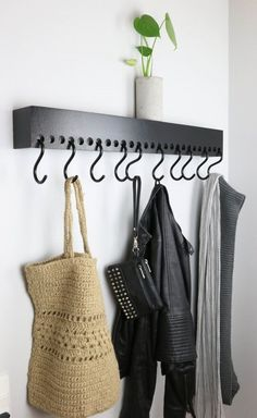 DIY knagerække | FornyDinBolig » Blog | Bloglovin'