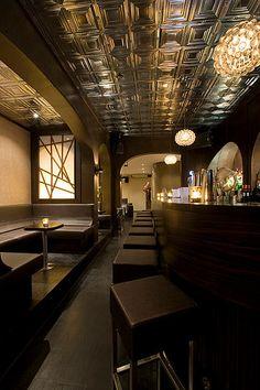 This pretty swanky bar tucked away behind the hidden 'Door 74' in Amsterdam.