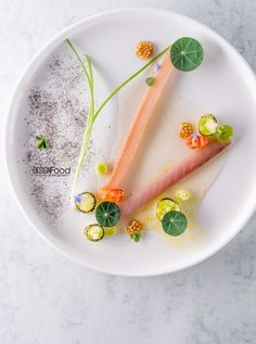 Marinated Rainbow Trout and Mackerel served with Freshwater Crayfish, Antonio Fekete - The ChefsTalk Project: