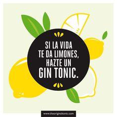 ¡Ánimo con la semana! :) #lemons #GinTonic #OriginalLife
