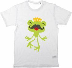 Kinder T-Shirt Herr Frosch von MilaLu auf DaWanda.com