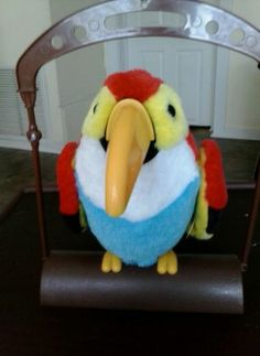 Colorful Talking Bird That Repeats What You Say (watch what you say)