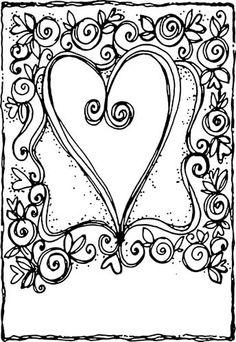 Artful Cardmaker, Hearts