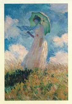 Claude Monet - Ombrelle    http://www.ibiblio.org/wm/paint/auth/monet/later/ombrelle.jpg