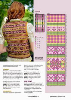 Knitting Machine Patterns, Fair Isle Knitting Patterns, Fair Isle Pattern, Knitting Charts, Knitting Designs, Knitting Stitches, Knit Patterns, Knitting Projects, Hand Knitting