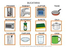 La cocina by Dana Horodetchi, via Slideshare Romanian Language, Autism Activities, Teaching Spanish, Worksheets For Kids, Preschool, Teacher, Master Chef, Languages, Drawings