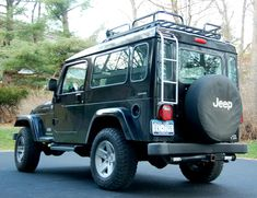 Homemade hard top for a Jeep