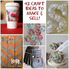 ooh! 42 crafts to make and sell