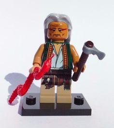 NEW CUSTOM 100% LEGO OLD APACHE MEDICINE MAN INDIAN TRIBE CHAMAN COWBOY BANDIDO #LEG0