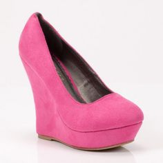 Madden Wedges in pink! 21.00