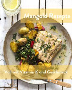Mangold Rezepte, gesund und reich an Vitamin K Marley Spoon, Pork, Meat, Chicken, Chard Recipes, Fresh, Easy Meals, Health, Kale Stir Fry