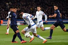 Paris Saint-Germain's Brazilian defender Thiago Silva vies for the ball with Chelsea's Spanish forward Diego Costa during the Champions League round of 16 first leg football match between Paris Saint-Germain and Chelsea FC on February 16, 2016, at the Parc des Princes stadium in Paris.