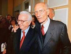 Enzo Biagi e Montanelli