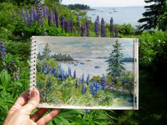 watercolor _by Leslie Conklin Fehling