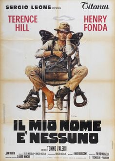 Italian poster for Tonino Valerii and Sergio Leone's My Name is Nobody (1973)