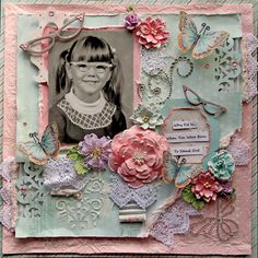 Stand Out **Scraps Of Elegance** August Kit~Sweet Summer Nights - Scrapbook.com