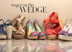 I love wedges...shoes as well as salads.