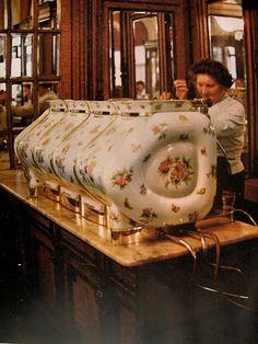 Porcelain Espresso Machine   Flickr - Photo Sharing!