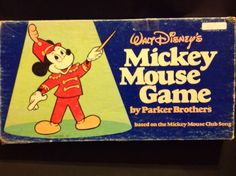Vintage Mickey Mouse Board Game Complete Dated 1976 Disney Great Condition | eBay