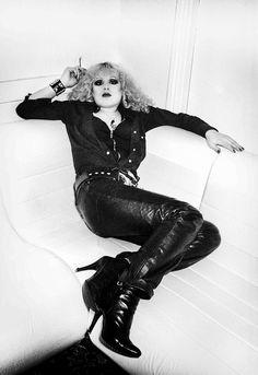 Nancy Spungen, Sid Vicious' girlfriend  That bitch was crazy   -xo Giselle
