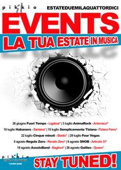Anteprima Il Pikkio EVENTS 2014. LA TUA ESTATE IN MUSICA | ENJOY !   Leggi il post---> http://blog.ilpikkio.it/gli-eventi-del-pikkio-gusto-birra-e-tanta-buona-musica/