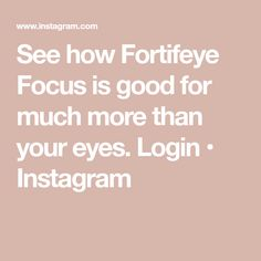 See how Fortifeye Focus is good for much more than your eyes. Dr World, Skin Nutrition, Eye Vitamins, Degenerative Disease, Total Body, Cool Eyes, Anti Aging, Good Things, Health